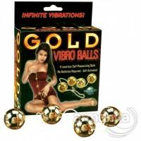 Gold Vibro Balls 4 lü Masaj Topları